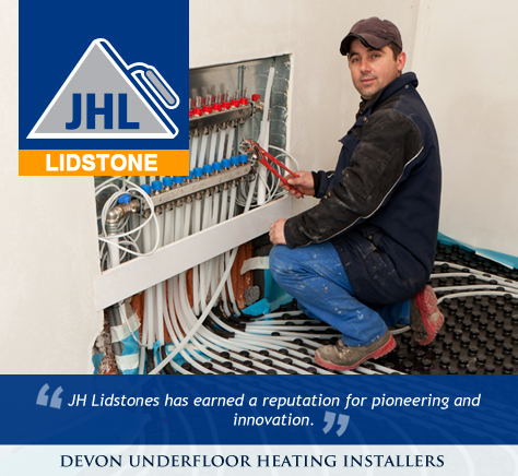 Devon Underfloor Heating Installers
